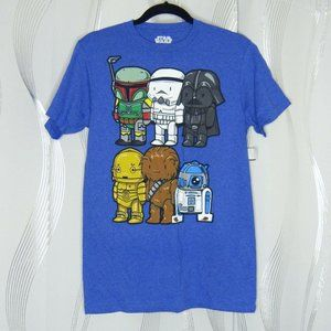 NEW Official Star Wars Men's Graphic T-Shirt Sz S
